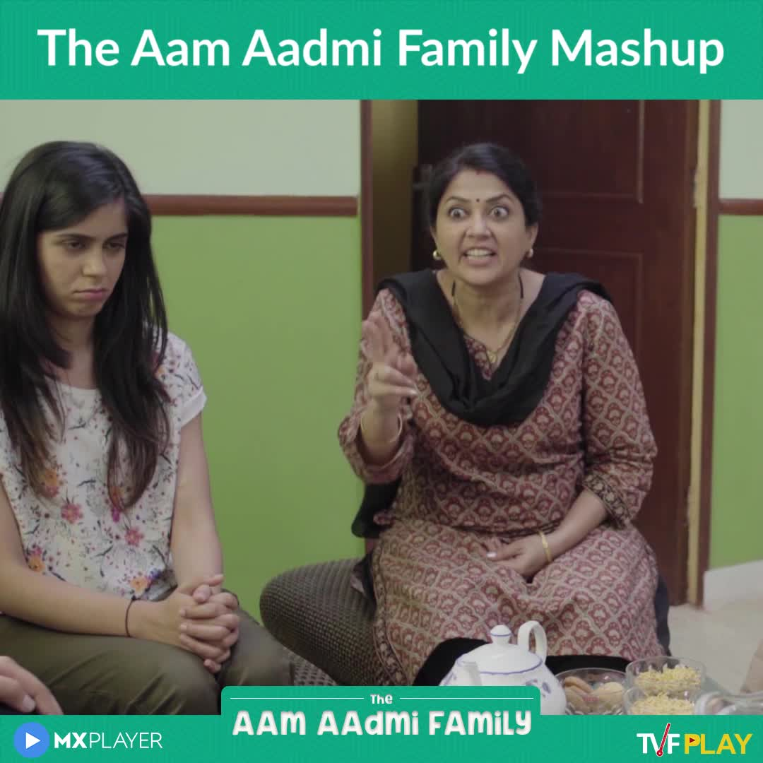 📹मजेदार वीडियो📹 - The Aam Aadmi Family Mashup The AAM AADMi Family ► MXPLAYER TVEPLAY The Aam Aadmi Family Mashup The AAM AAdmi Family MXPLAYER TVFPLAY - ShareChat