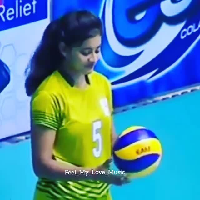 Volley The 15 Year Old Young Talent Of India Volley Ball Disha Ghosh My Fav Volley Ball Player Video T Pavithra Sharechat Funny Romantic Videos Shayari Quotes