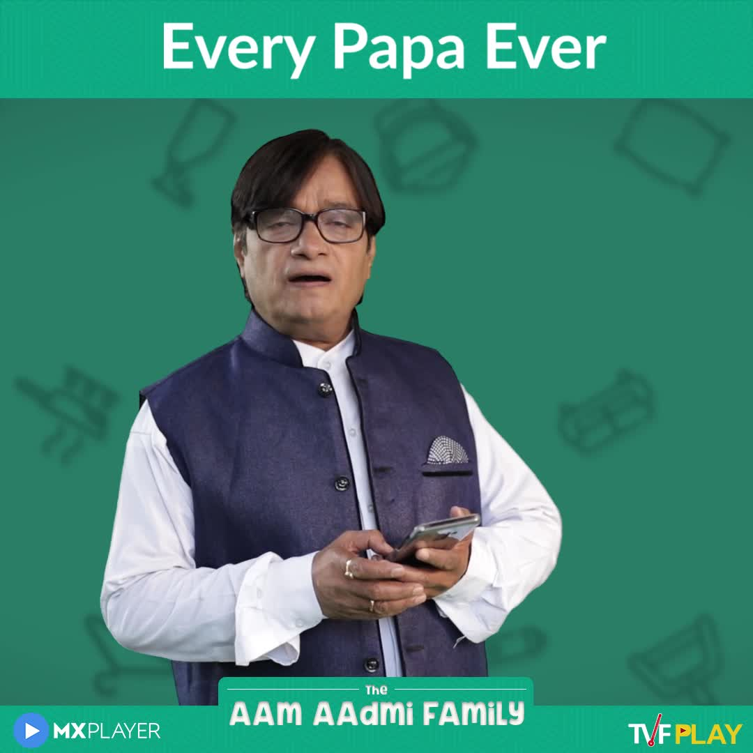 📹मजेदार वीडियो📹 - Every Papa Ever The — AAM AAdmi FAMILY ► MXPLAYER TVFPLAY Every Papa Ever The AAM AAdmi FAMILY ► MXPLAYER TVEPLAY - ShareChat